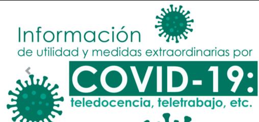 IMG Medidas excepcionales – Plan de Actuación COVID-19